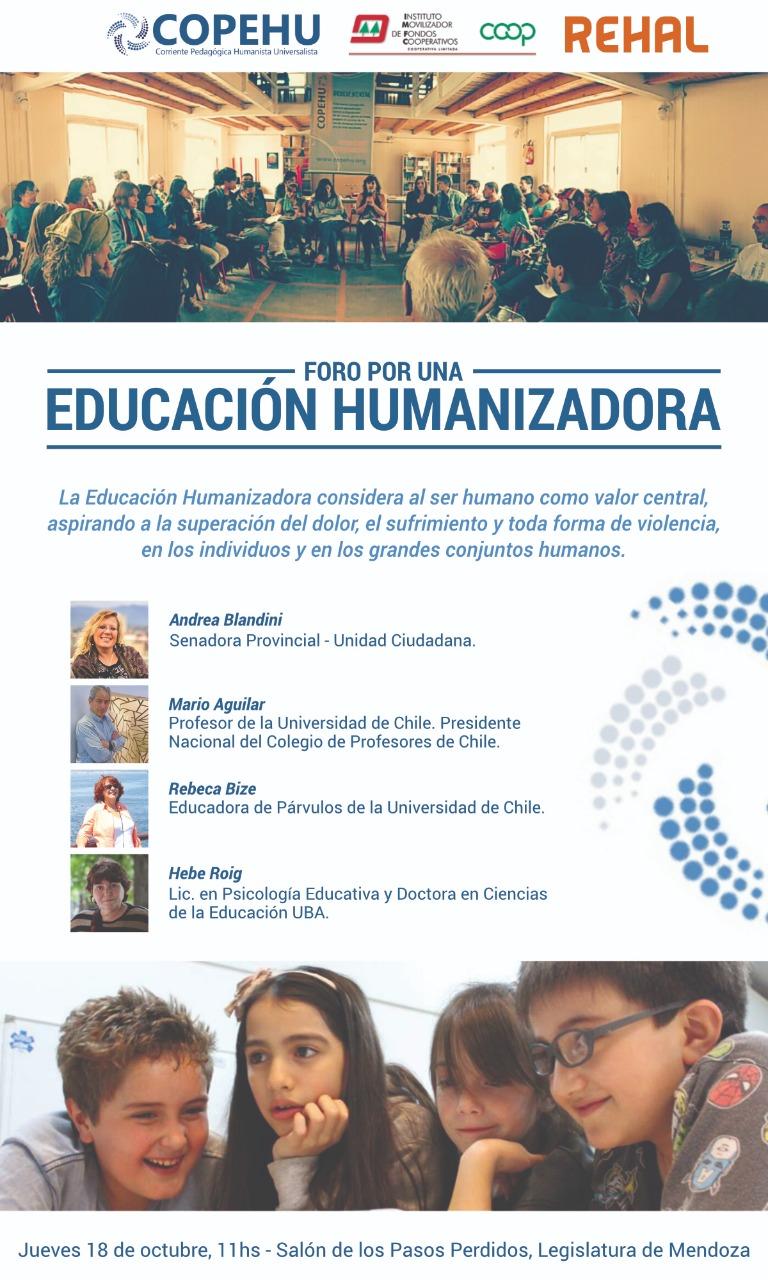 FORO POR UNA EDUCACIÓN HUMANIZADORA