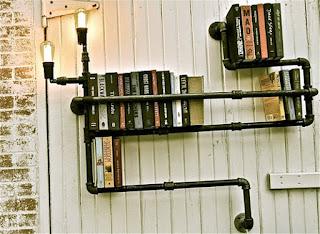 Steampunk Bookshelf