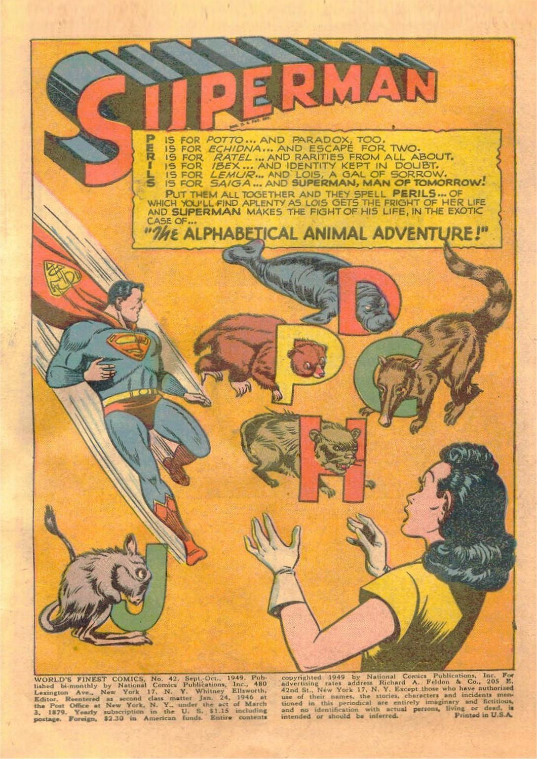 Read online World's Finest Comics comic -  Issue #42 - 3