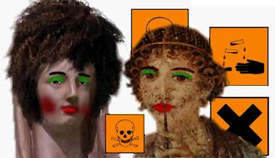 Antike Römerinnen & Kosmetik