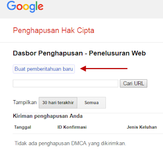 Penghapusan Hak Cipta dari Google