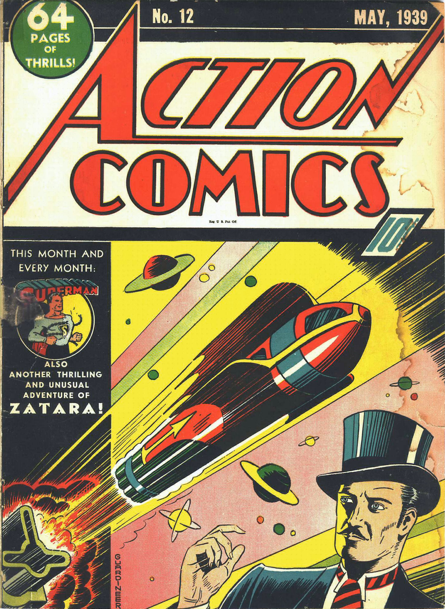 Read online Action Comics (1938) comic -  Issue #12 - 2