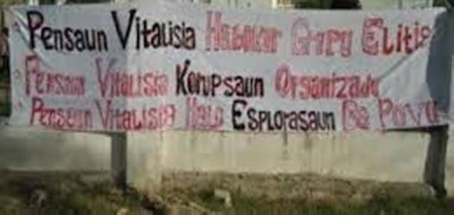 FRETILIN Lauza Kamus Pensaun Vitalisia Ba Situasaun Politika Atual