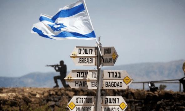 ترامب: يجب الاعتراف بشرعية وجود اسرائيل في مرتفعات الجولان باعتباراها جزءًا من أراضيها.