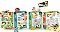 Logo Partecipa gratis con Io e Il Mio Bambino e vinci 31 kit di Giochi Headu