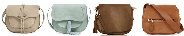 One of these saddle bags is from Tom Ford on sale for $1,495 and the other three are under $100. Can you guess which one is the designer bag? Click the links below to see if you are correct!