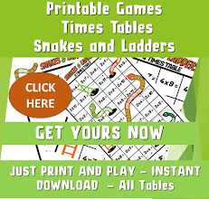 Printable Multiplication Games