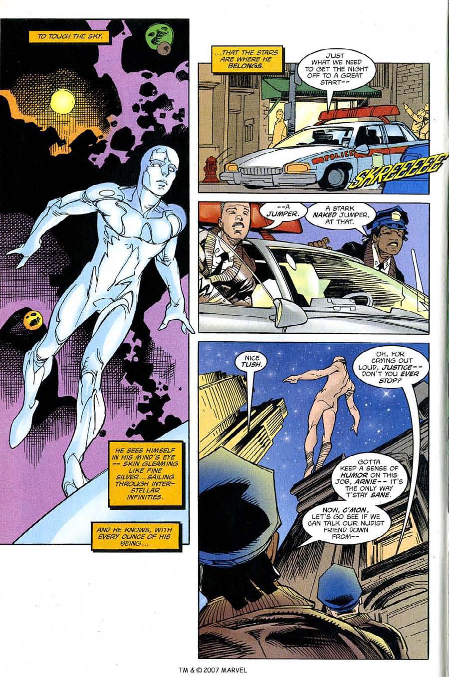 Read online Silver Surfer (1987) comic -  Issue #128 - 6