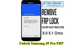Bypass FRP Samsung J5 Pro SM-G530Y 8.0 8.1 Oreo Tanpa PC