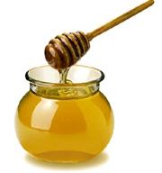 Foto de la miel de abeja - Derivado de la abeja