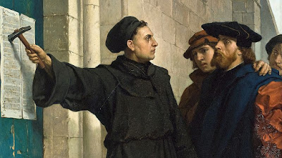 Like Martin Luther and the Protestant Reformation, creationists are calling for a reformation as well: authority of Scripture