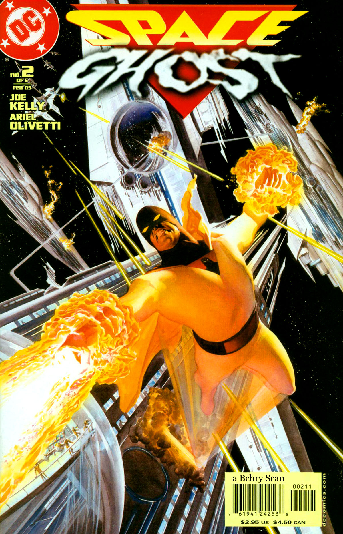 Read online Space Ghost (2005) comic -  Issue #2 - 1