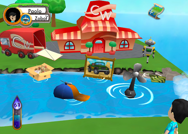 Ooka Island iPad Reading App - Clumsy Wacky Moving Co.