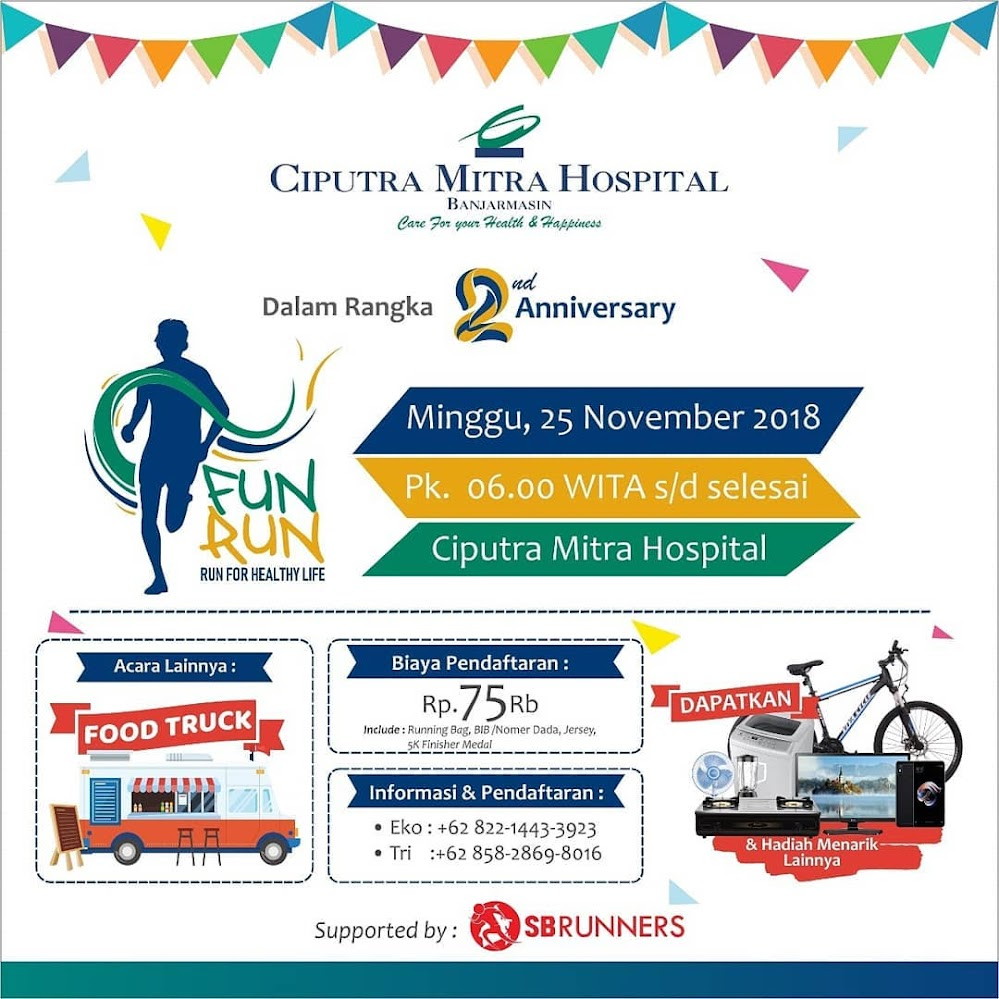 Ciputra Mitra Hospital - Fun Run • 2018