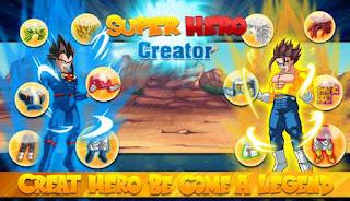 Create Dragon Z Saiyan Warrior Hacked Apk
