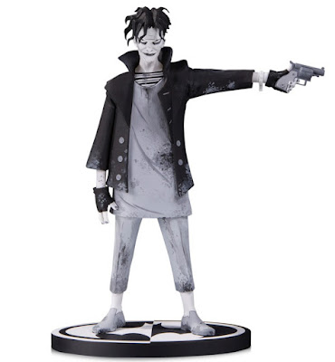 Batman Black & White The Joker Statue by Gerard Way x DC Collectibles