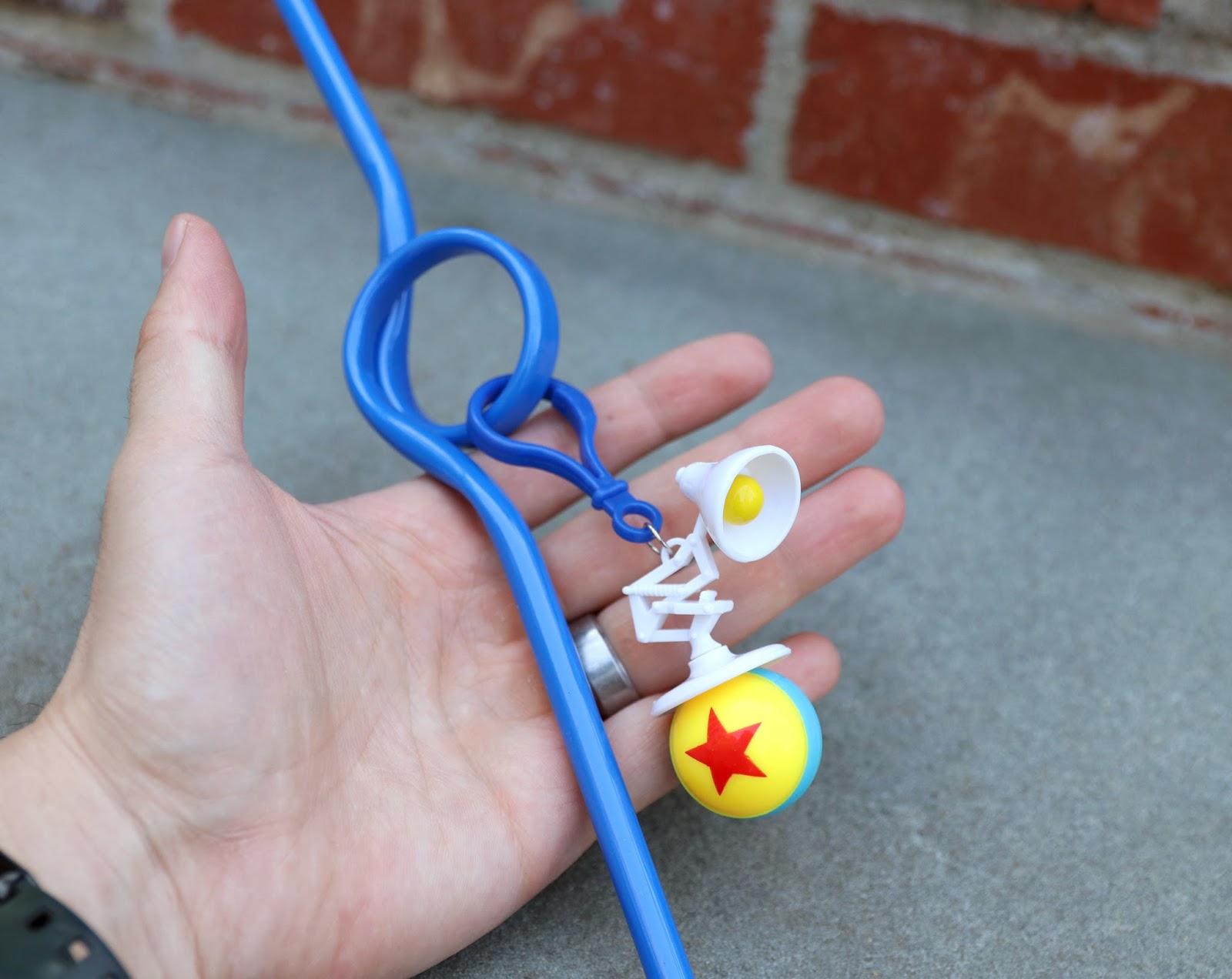 Dan the Pixar Fan: Luxo Jr. Novelty Straw (Disneyland ...