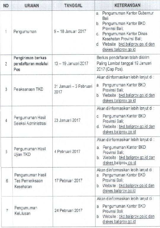 Lowongan Kerja Non PNS Rumah Sakit RSUD Bali Mandara Provinsi Bali