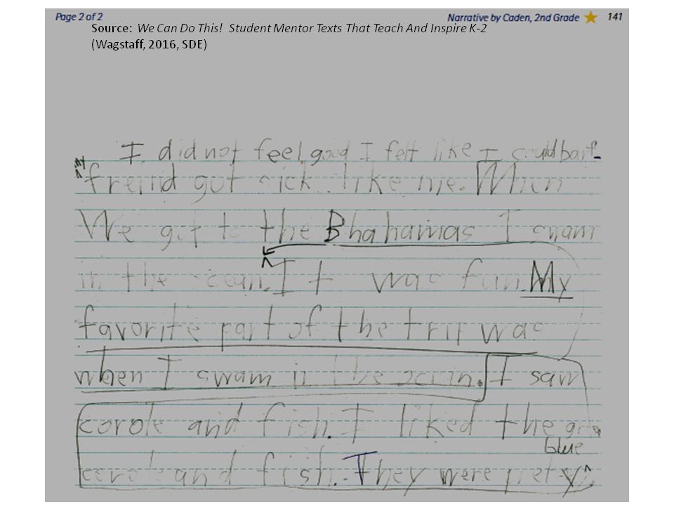 Literacy Matters: Blog Series: Using Student Writing as