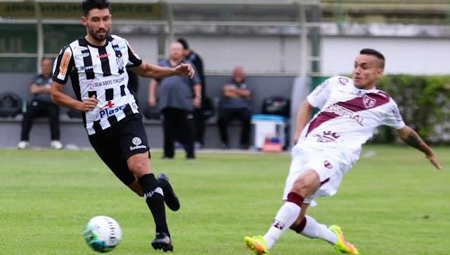 Vila Nova peca e sai derrotado pelo Tupi em Minas