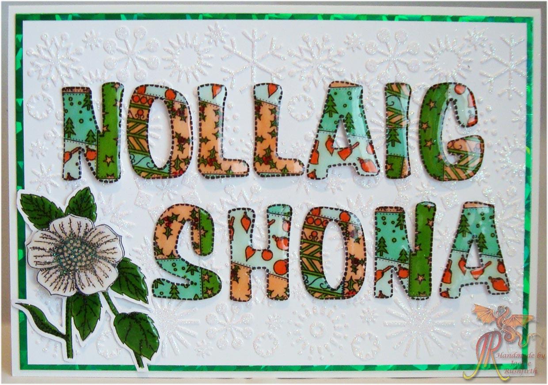 merry christmas in irish gaelic
