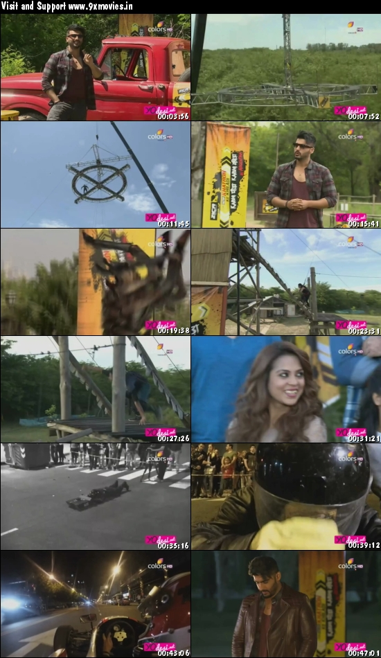 Khatron Ke Khiladi 7 Hindi 21 Feb 2016 HDTV 480p