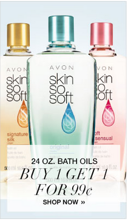 Cheap Avon Skin So Soft Bath Oil