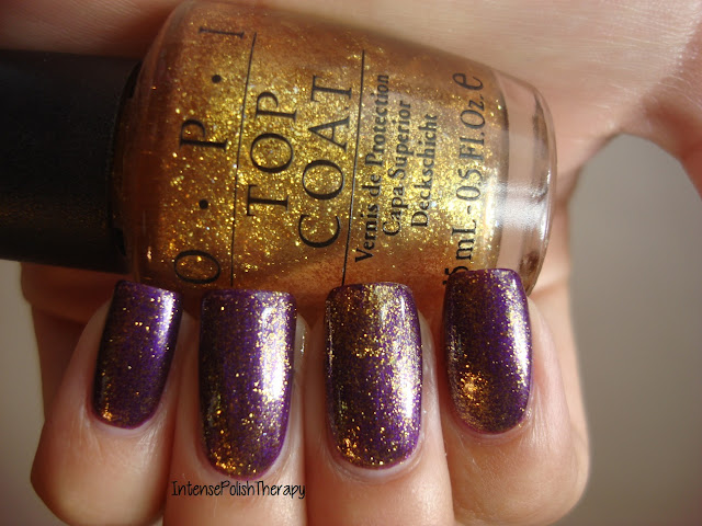 OPI - Thrills in Beverly Hills Glitter Top Coat