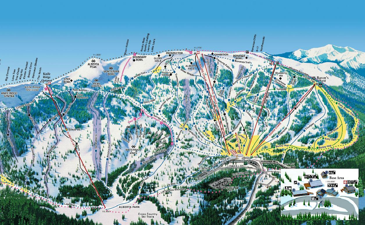 colorado ski resort map with Pair Skiing On Trails Of Wolf Creek on Skiresort besides 1031 additionally Westin Riverfront Resort And Spa At Beaver Creek Mountain also 313115 as well 503.