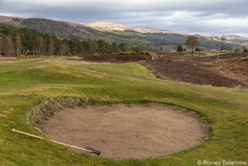 Fort Augustus Golf Club Bunker Top Scottish Golf Courses