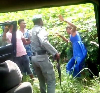 Police React To Video Of Policeman Assaulting A Lady In Delta