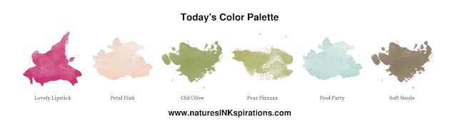 Today's Color Palette | Nature's INKspirations by Angie McKenzie | Decenber 2019 Stampin' Dreams Blog Hop