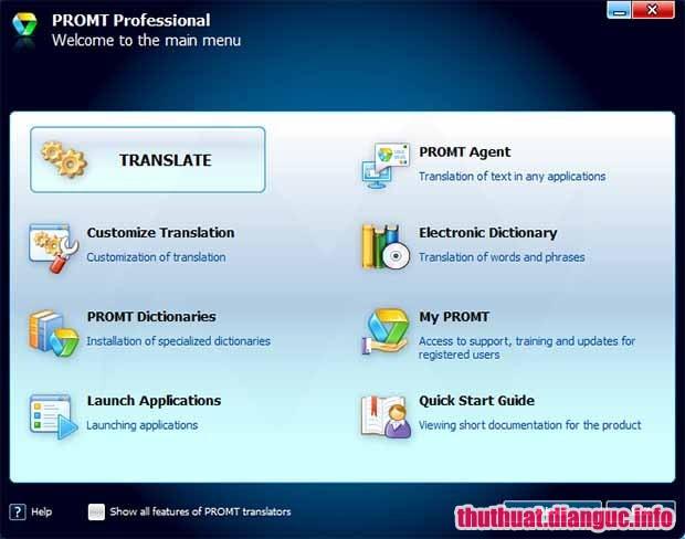 Download PROMT Professional 19 Full Cr@ck – Phần mềm dịch thuật tốt nhất