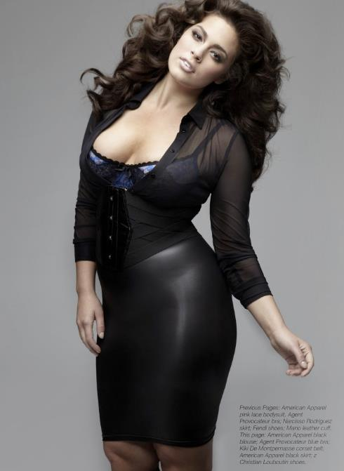 Ashley graham plus size model naked