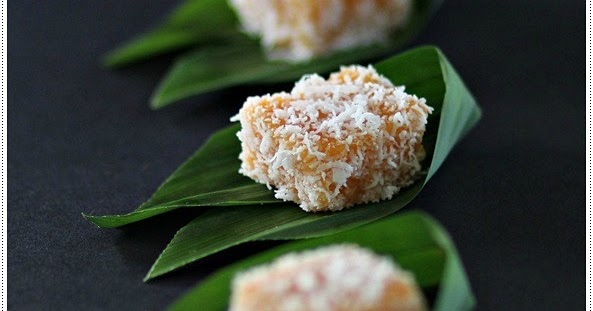Sweet Potato Gems 甜番薯椰丝糕 Anncoo Journal Come For Quick