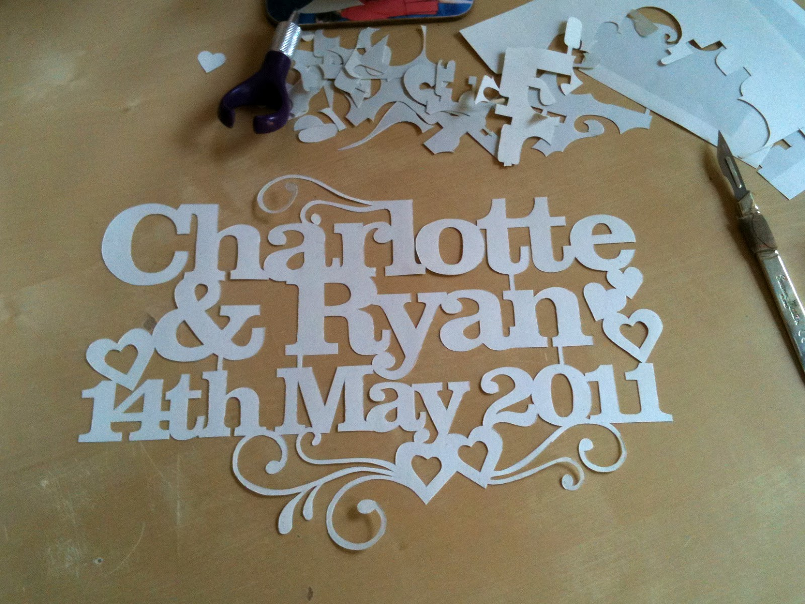 Perfect Wedding Gift For Bride: Kyleighs Papercuts: The Perfect Wedding Gift