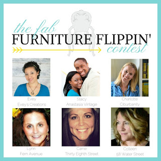 fab flippin contest, furniture contest, monthly contests, prizes, best paint