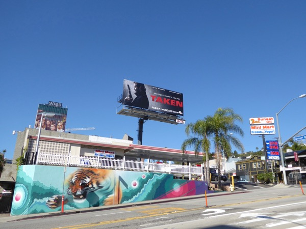 Taken TV series billboard