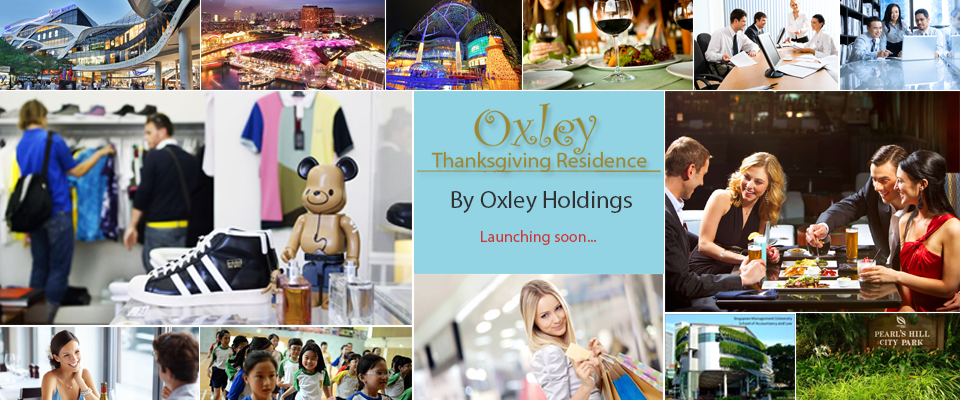 Oxley ThanksGiving Residence Singapore banner