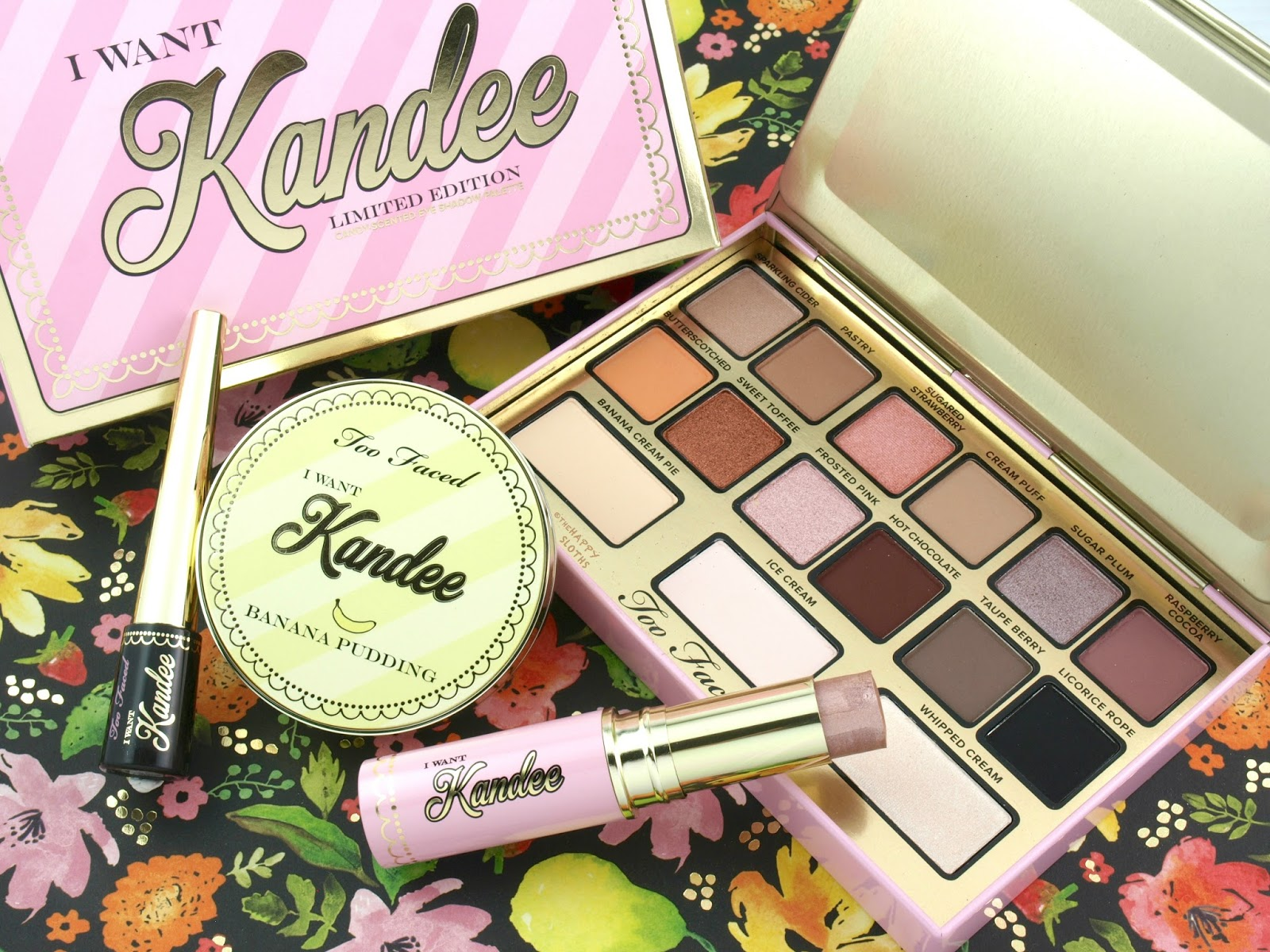 Too Faced x Kandee Johnson | I Want Kandee Collection: Review and Swatches