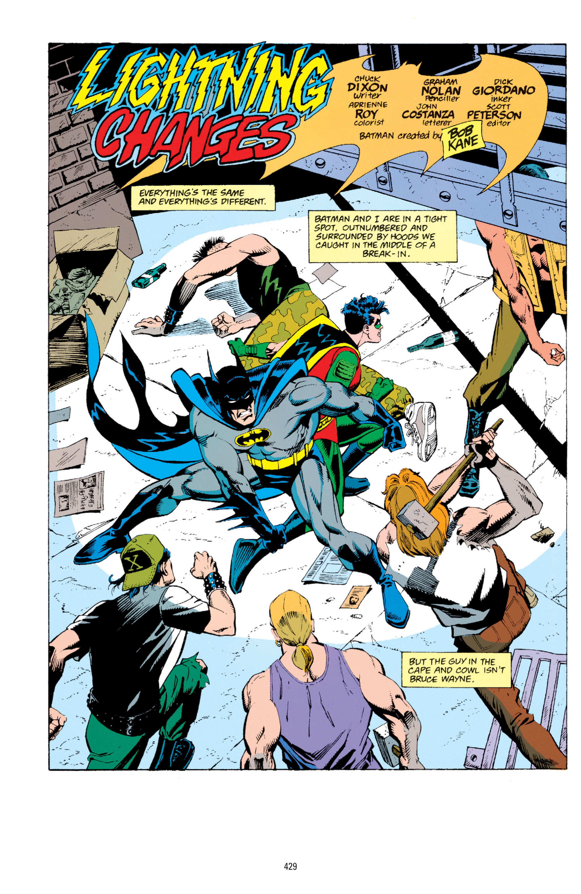 Detective Comics (1937) 665 Page 1