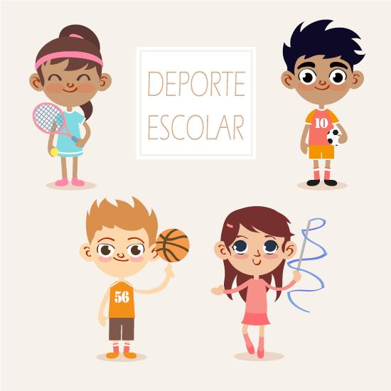 Set de equipamiento de Deporte Escolar