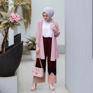 Setelan-Baju-Muslim-Modern-Wanita Berhijab-paling-hits