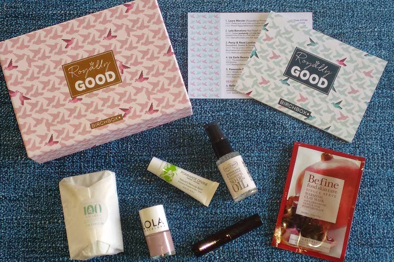 birchbox april royally good box