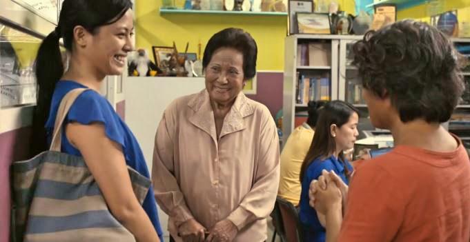 Seraspi and Panguelo meet Professor Esperanza Bautista