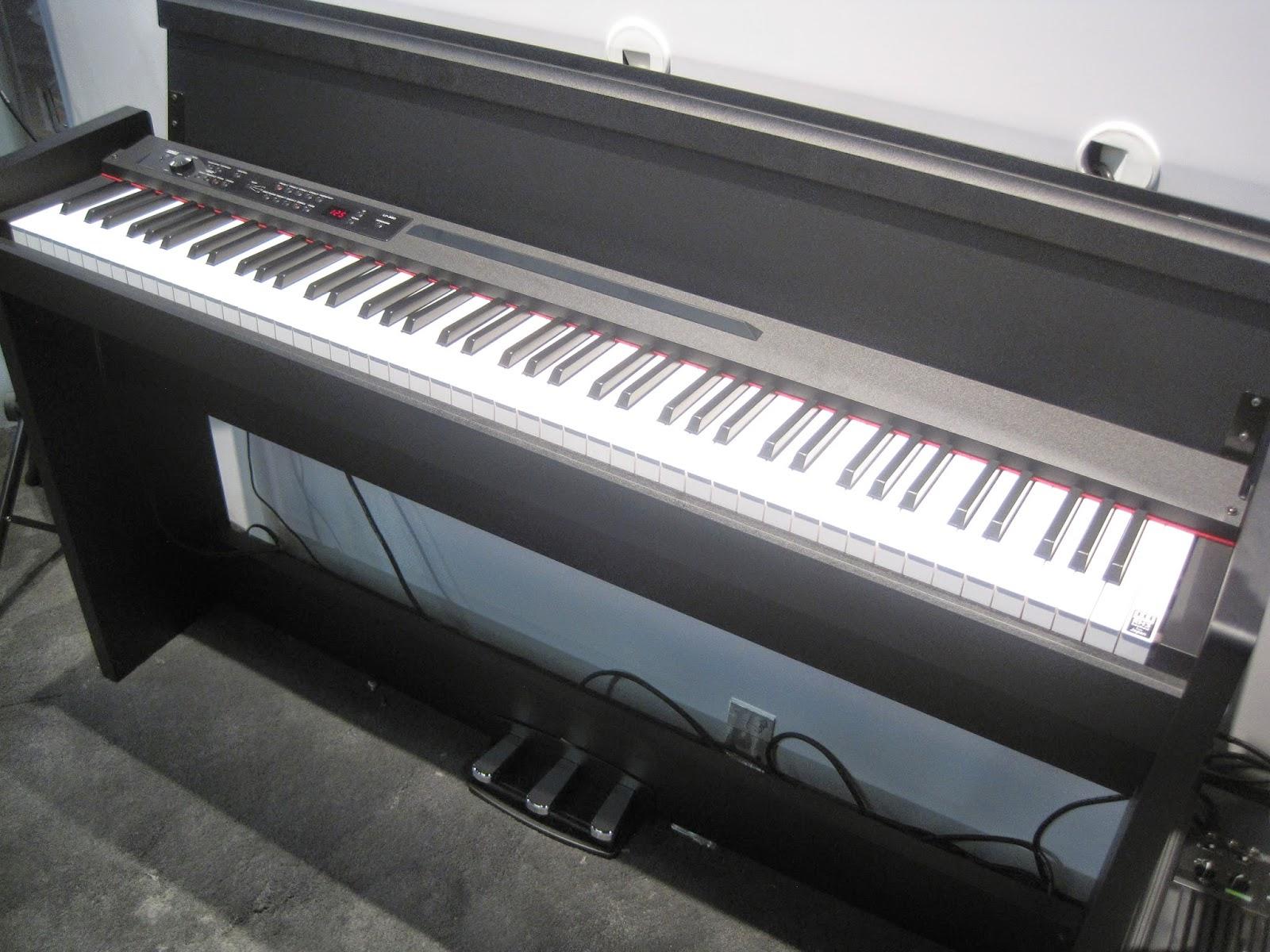 az piano reviews review korg sp280 korg lp380 digital pianos. Black Bedroom Furniture Sets. Home Design Ideas
