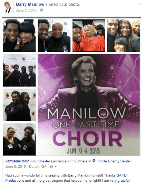 Barry Manilow with Jermaine Sain and Company
