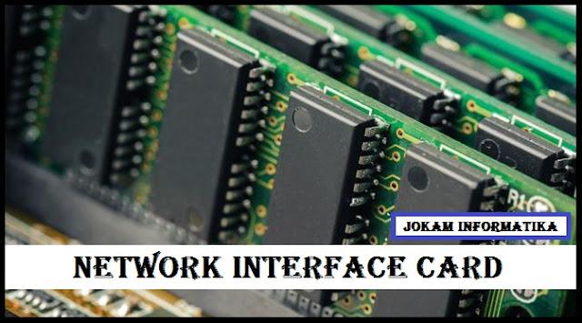 Pengertian, Jenis dan Fungsi Network Interface Card (NIC) Lengkap - JOKAM INFORMATIKA
