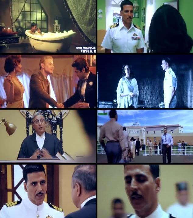 Rustom 2016 Hindi 480p DVDScr