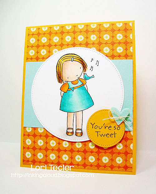 You're So Tweet-designed by Lori Tecler/Inking Aloud-stamps and dies from My Favorite Things